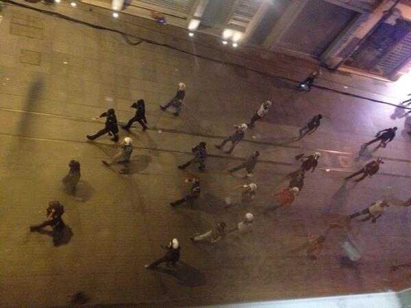Αστυνομία γύρω απ τον δικηγορικό σύλλογο Κωνπολης