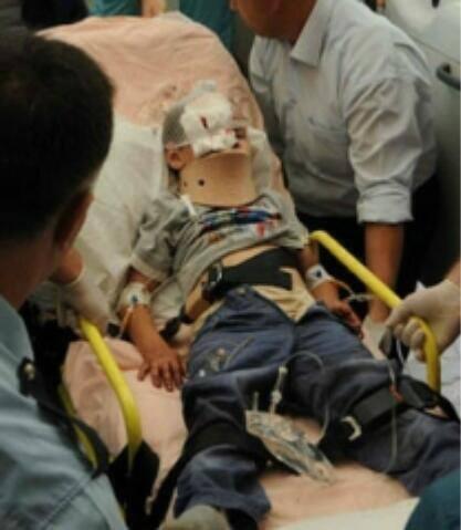 Όλη η βαναυσότητα της αστυνομίας του Ερντογάν πάνω σε ένα αθώο παιδί