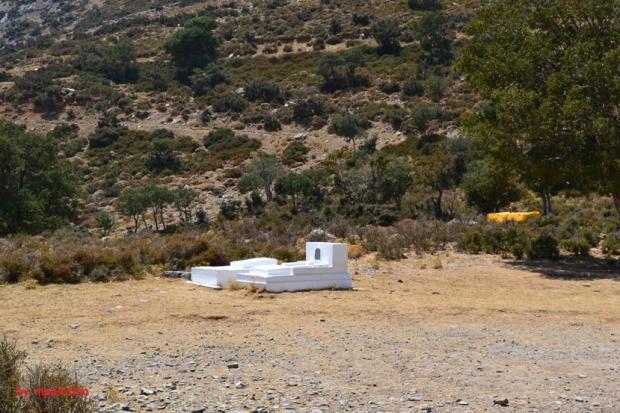 Ο τάφος του Μιχάλη Βρέντζου